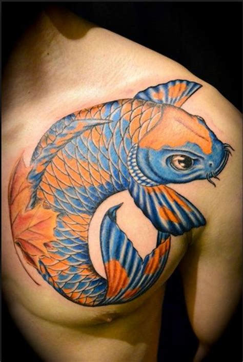 tattoo koi colors blue and orange koi try other colors for your koi