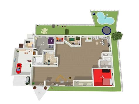 Online Floorplanner pianta casa piante appartamento disegnare la pianta di