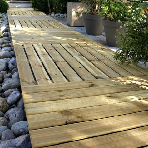 Dalle De Patio Pas Cher by Dalles Bois Terrasse 1mx1m