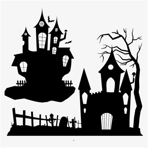 Is My House Haunted Address Search Free Haunted House Silhouette Haunted