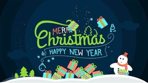 after effects cc 2017 funny wishes merry christmas and