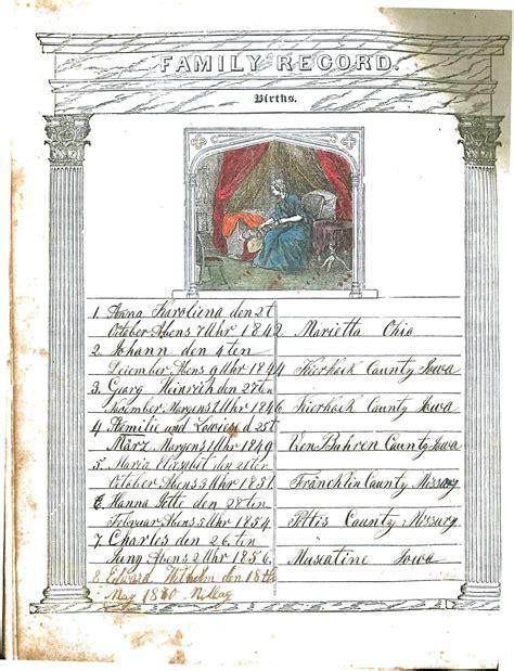 Prussia Germany Birth Records Documents Martha Danker Hellweg