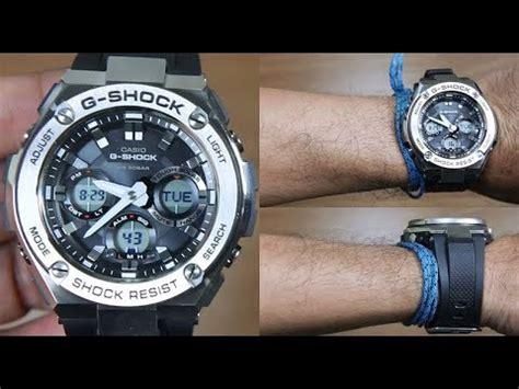G Shock Gst S110 casio g shock g steel gst s110 1a unboxing