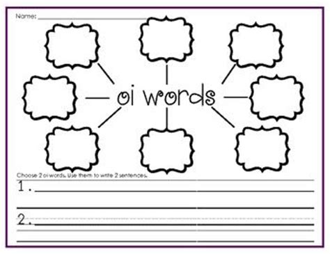 Oi Oy Worksheets by Oi And Oy Activities Images Frompo