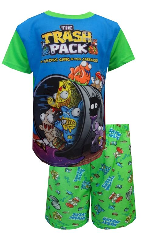 The Trash Pack Sweat Dreams Pajamas  The Trash Pack