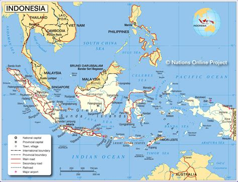 map indonesia maps