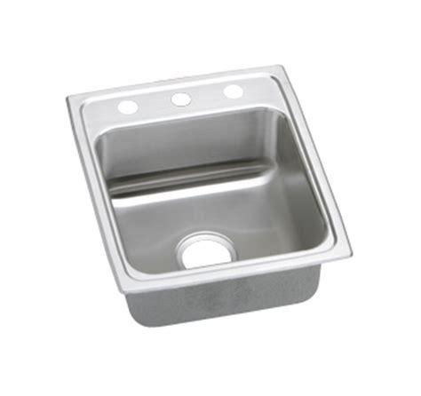 elkay lustertone lrad  channel topmount single bowl