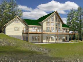 House Plans For Lake Homes Pebble Creek Lake Home Plan 088d 0071 House Plans And More