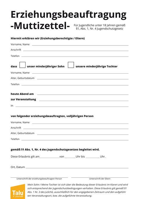 Zettel Drucken by Muttizettel Vorlage Zum Ausdrucken Pdf Vordruck Talu De