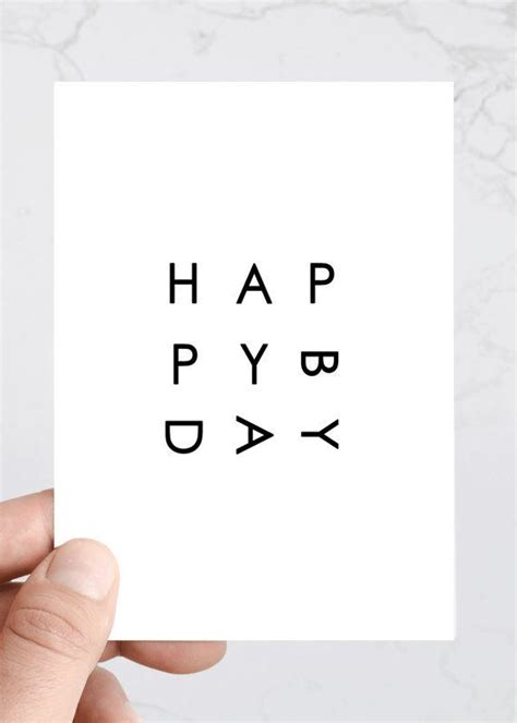 happy birthday minimal design 25 best ideas about happy birthday font on pinterest