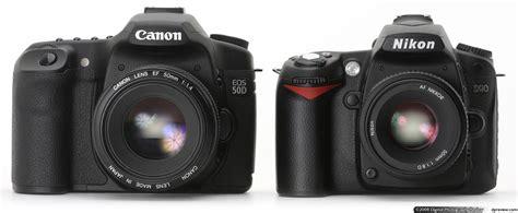 Perbandingan Lensa Nikon Vs Canon adu dslr kelas menengah canon 50d vs nikon d90 dunia digital