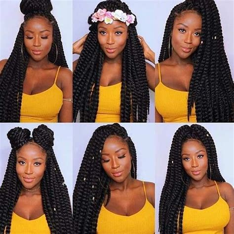 ways to pack braids 31 stunning crochet twist hairstyles crochet twist