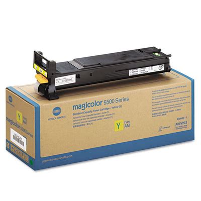 Toner Konica Minolta konica minolta a06v233 yellow toner cartridge high yield made by konica minolta 12000 pages