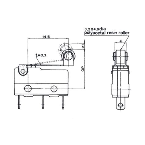 roller micro switch spdt wiring diagram new wiring