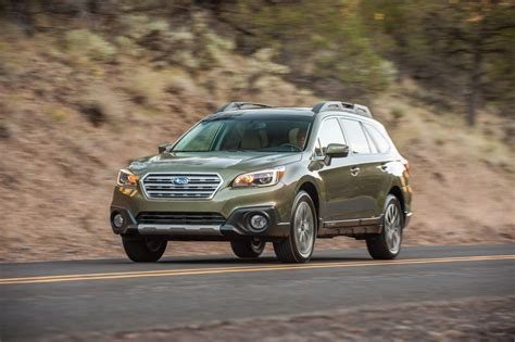 subaru outback model years changes and new features in subaru outback for 2016 model year
