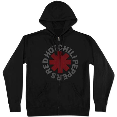 Hoodie Hoto Chili Papers chili peppers asterisk zip hoodie