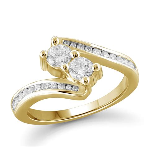 tradition 10k yellow gold 1 00cttw certified