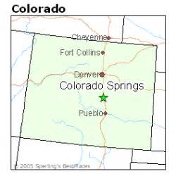 map colorado colorado springs