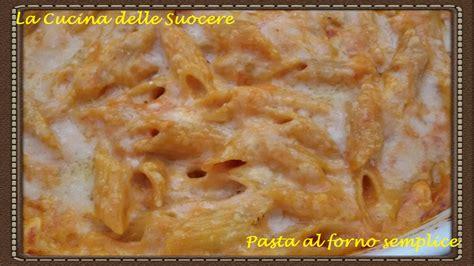besciamella pronta per cucinare pasta al forno semplice con sugo di carne e besciamella