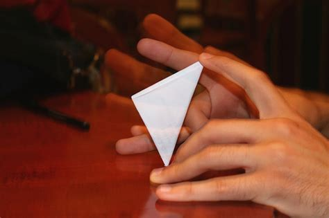 A Paper Football - how to make a paper football