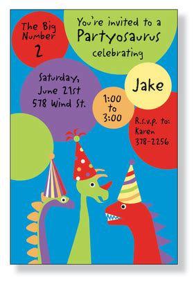 printable juvenile birthday cards invitations birthday children juvenile boys partyosaurus