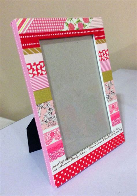 what to do with washi tape washi tape frame quot cupid s valentine quot washitejp pinterest