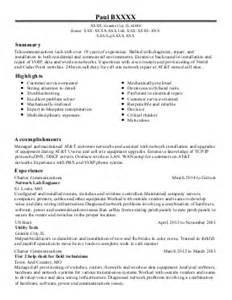 Voice Engineer Sle Resume by Voice Engineer Resume