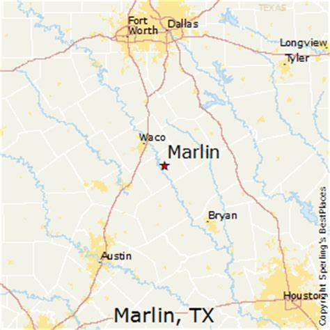 marlin texas map best places to live in marlin texas