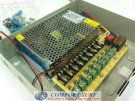 Powersupply Box Setral Box 12 V 30 A Free Kabel Power secureyes iron box 12v 3a 10a 30a 9 18 channel alarm cctv power supply 11street malaysia