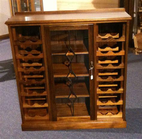 Rack Furniture by Wine Rack With Leadlight Turners Blackwood Furniture