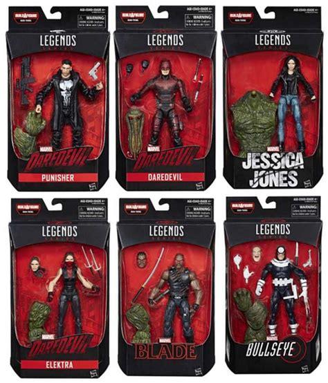 marvel figure 6 set set of 6 build a figure thing marvel legends
