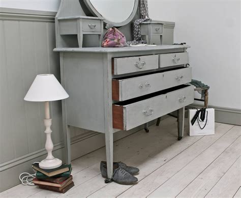 Vintage Dressing Table Accessories Upcycled Dressing Table
