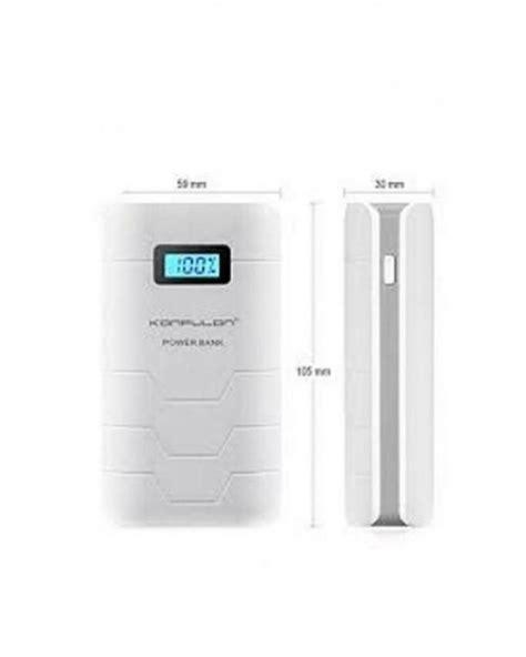 Powerbank Sumo 10000 Mah Lcd konfulon batterie externe originale power bank lcd capsule 10000 mah dual usb acheter en ligne