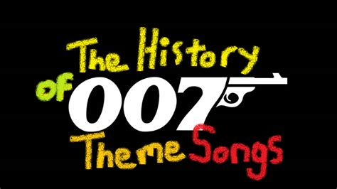 theme songs to james bond the history of james bond theme songs