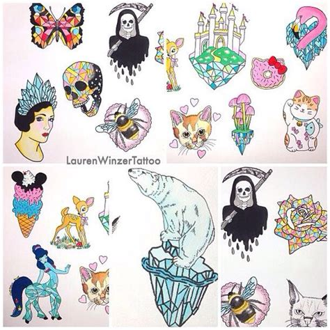 kawaii tattoo kawaii designs