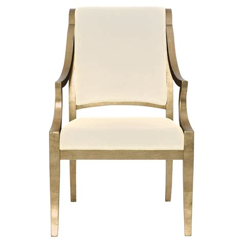 ivory armchair nicola hollywood regency curved gold ivory armchair pair kathy kuo home