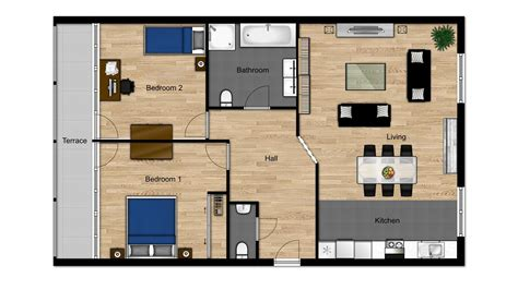 virtual floor plan interactive floor plans for real estate drawbotics