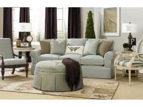 paula deen by craftmaster living room three cushion sofa