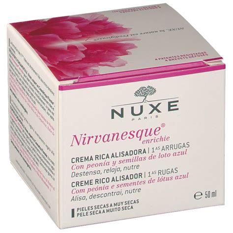 Nuxe Nirvanesque Enrichie 50ml nuxe nirvanesque 174 cr 232 me enrichie shop pharmacie fr