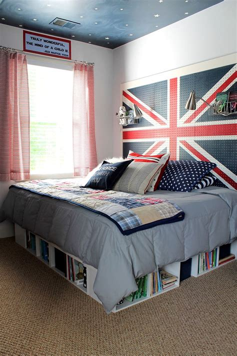 union jack bedroom 15 diy bedroom storage and d 233 cor ideas that bring space