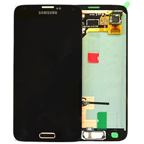 Lcd G900f genuine galaxy g900f s5 lcd screen digitizer gold gh97