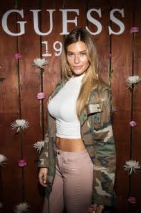 brighton sharbino belly samantha hoopes guess 1981 fragrance launch in la gotceleb