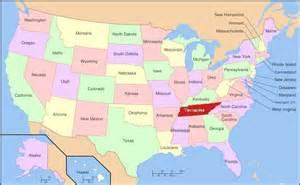 Nashville Time Zone Map by Usa Map Nashville My Blog