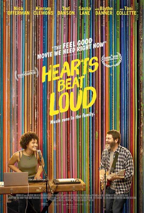 nick offerman record store kiersey clemons nick offerman in first trailer for