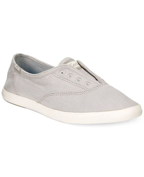 s laceless sneakers keds s chillax laceless sneakers in gray drizzle