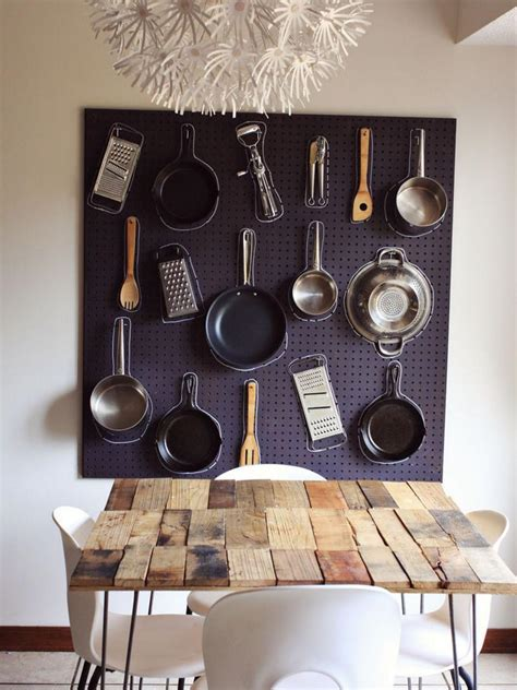 kitchen pegboard ideas 13 creative pegboard ideas hgtv