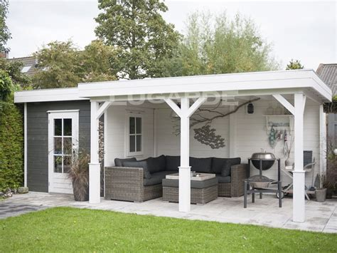 Make Your Own Canopy lugarde flat roof summerhouses keops interlock log cabins
