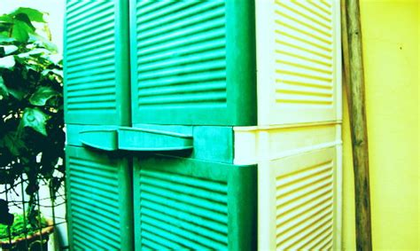 armadietti per esterno in resina armadio portascope da esterno in plastica o resina