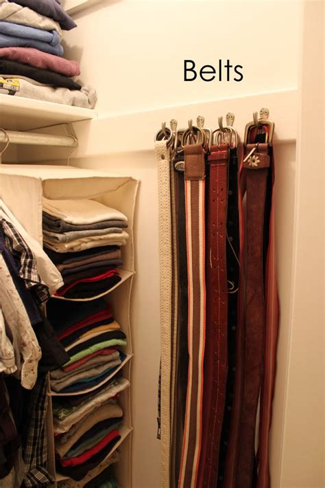 How To Organize Belts In A Closet by 25 Best Ideas About Tie Rack On Tie Storage