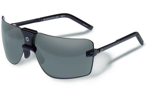 85 s black grey flash silver gargoyles eyewear